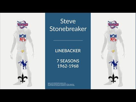 Steve Stonebreaker: Football Linebacker