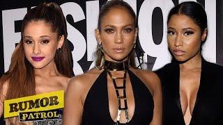 Ariana Grande Two-Faced Diva, Nicki Minaj & JLO Beef?! (Rumor Patrol)