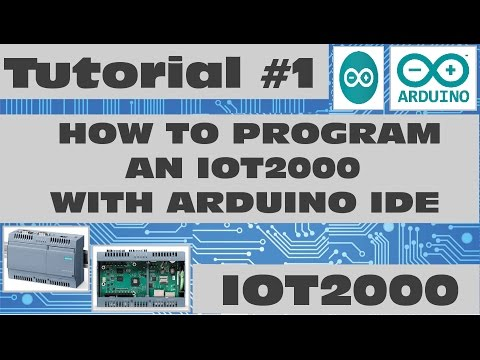 Program the IOT2000 with Arduino IDE!