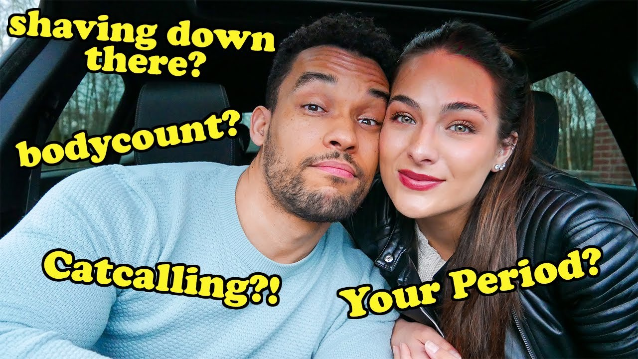 ASKING MY BOYFRIEND Juicy Questions You're Too Afraid To Ask..