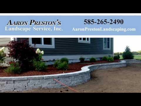 Aaron Preston's Landscape Service | Rochester NY Landscape Contractors