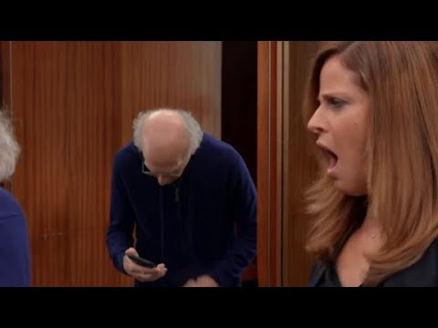 Curb Your Enthusiasm - Larry Gets An Erection In Front Of Saleswoman