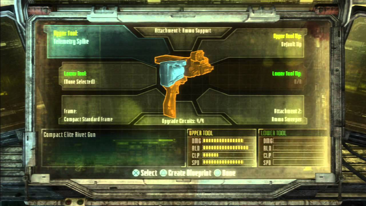 Dead space 3 weapon crafting tutorial how to make the rivet gun hd dead space 3 weapon crafting tutorial how to make the rivet gun hd malvernweather Images