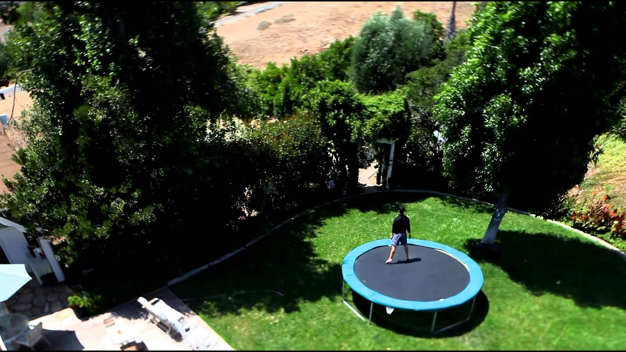 how to trampoline like a pro youtube