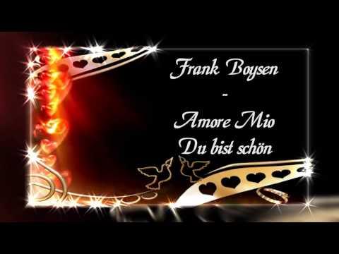 Frank Boysen  - Amore Mio - Coverversion - Hansi Hinterseer