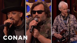 "Boy George & Jack Black Sing ""Hello I Love You""  - CONAN on TBS"