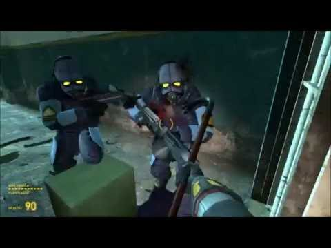 29 Half Life 2 -  Nova Prospect- Gameplay With Steve and Stephen - Part 8- PC - Let's Play