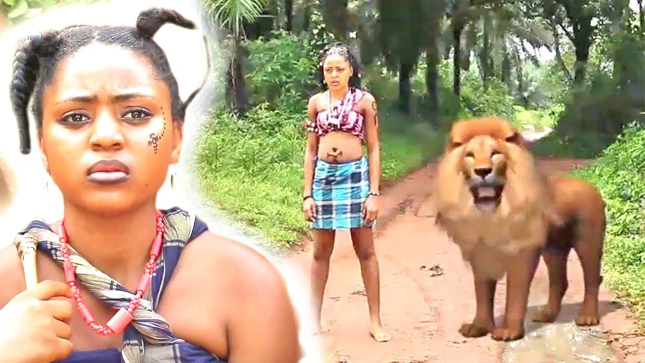Download REGINA DANIELS THE LION PRIESTESS WITH MAGICAL POWERS FROM THE GODS - 2021 AFRICAN MOVIES