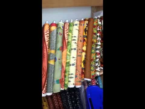 Quick Vlog: New Fabric Store in Chicago