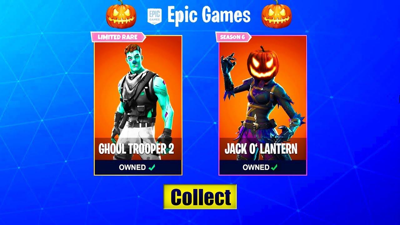 Halloween Skins Fortnite 2018.Fortnite Halloween Event Could Bring Back The Skull Trooper Skin