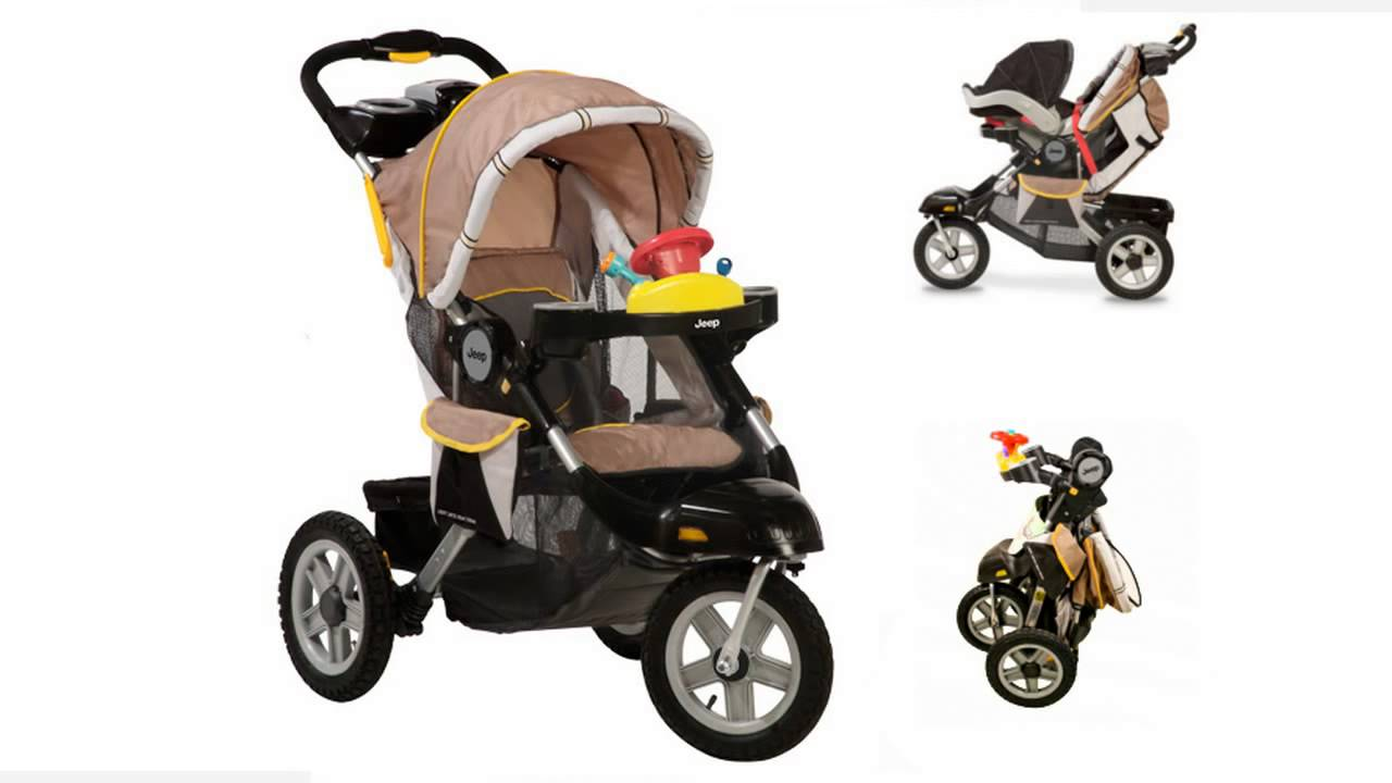 J is for Jeep Cross-Country All-Terrain Jogging Stroller from .