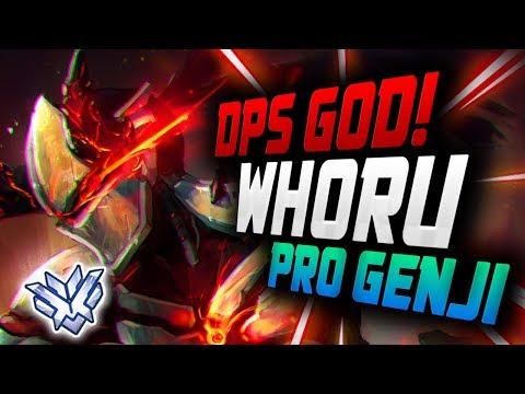 WHORU is a Genji God - KOREAN DPS! Pro Genji![ OVERWATCH SEASON 12 TOP 500 ] thumbnail