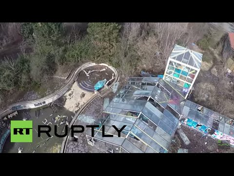Germany: Taken by RATS! Drone explores Berlin's derelict water world