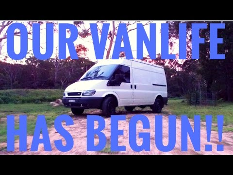 We Bought A Ford Transit Van, Conversion to Travel Australia!