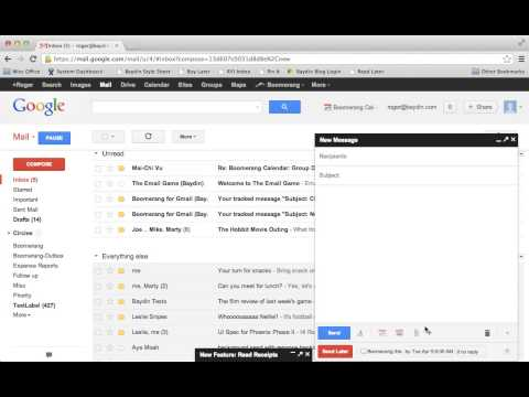 How to Track Responses with Boomerang for Gmail