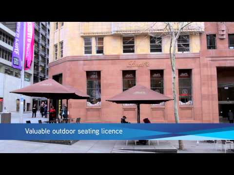 Lindt Chocolate: 51-61 Martin Place, Sydney