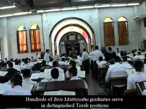 "Yeshiva ""Bais Matityahu"" one of the best Yeshiva in the Jewish world"