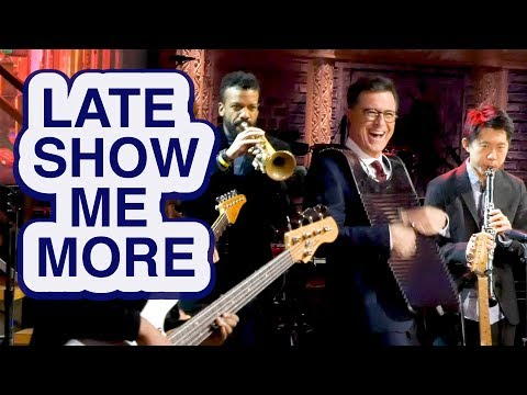 LATE  SHOW ME MORE: Stephen Plays The Spoons