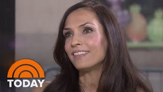 Famke Janssen Is 'Taken' With Liam Neeson | TODAY