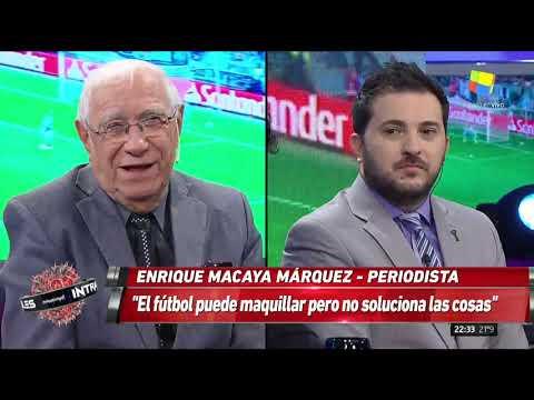 Macaya Márquez ve mejor a Boca que River para la final de la Copa Libertadores