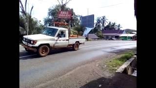 Pengawalan Kendaraan Berat PT Vale