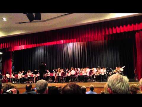 Centennial Lane Elementary School Spring Beginning Band Concert 2013