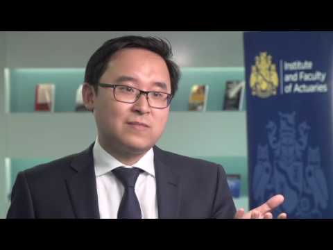 Pieces to camera by actuaries working in finance and investment/wider fields