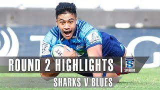 ROUND 2 HIGHLIGHTS: Sharks v Blues - 2019