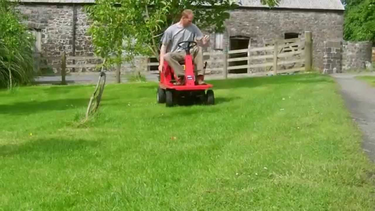 Mtd Pinto Ride On Tractor Lawn Mower Demo Youtube