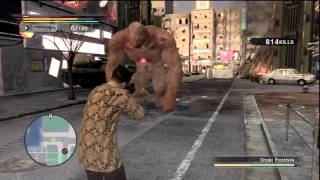 Onraki Boss Fight - Yakuza: Dead Souls Gameplay
