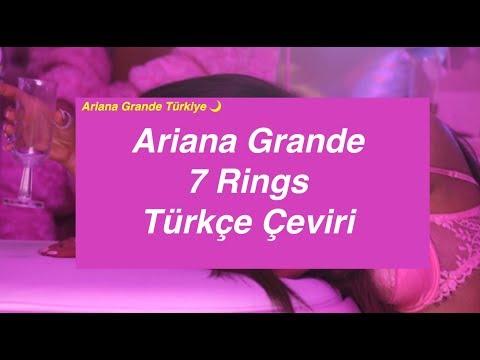 Ariana Grande - 7 Rings Türkçe Çeviri / Ariana Grande Türkiye