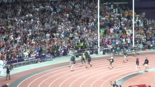 London 2012 Olympics Athletics World Record - Jamaica win Men