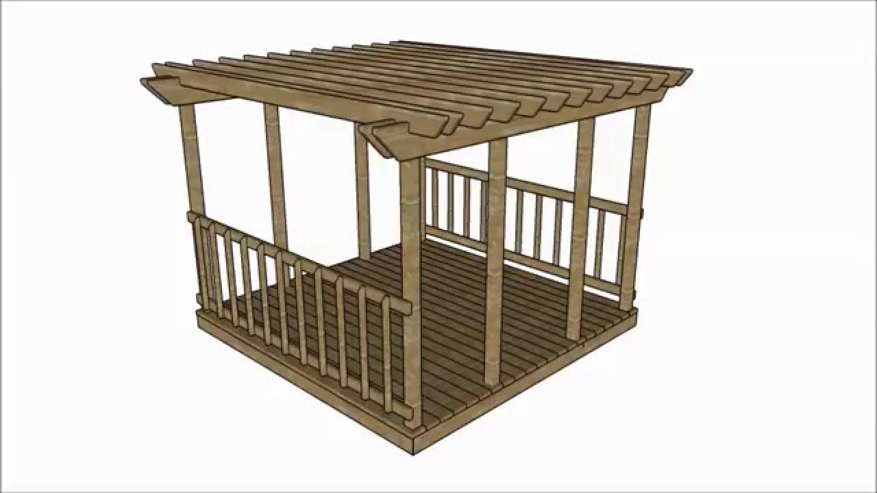 - Deck Pergola Plans - YouTube