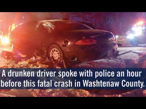 Drunken driver spoke with police hour before fatal crash