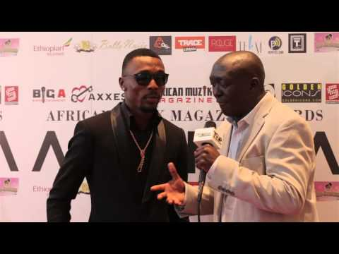 Afrodisiac TV   Red Carpet Interview With Serge Beynaud