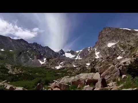 Hiking, Indian Peaks Wilderness, Colorado. Video by Richard Hicks Gopro Video03