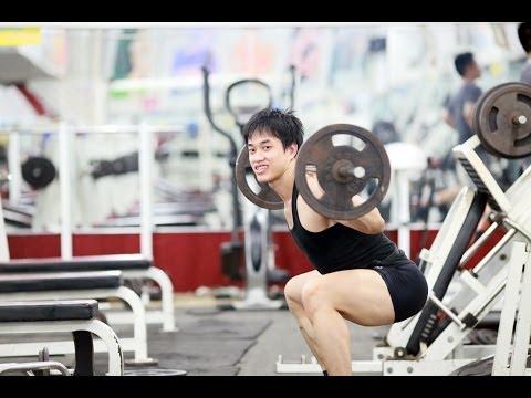 [THỂ HÌNH] Tăng cơ giảm mỡ Mông Đùi Duy Nguyễn