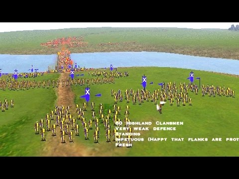 """Battle of Stirling Bridge"" (Expert level) - Medieval Total War"