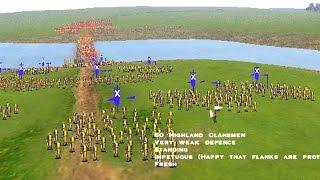 """""""Battle of Stirling Bridge"""" (Expert level) - Medieval Total War"""