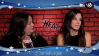 Sandra Bullock, Melissa McCarthy & Paul Feig Uncensored On THE HEAT