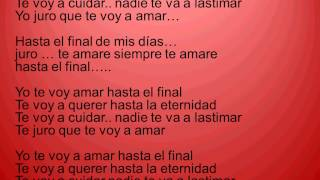agapornis hasta el final letra