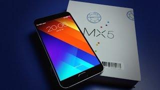 Meizu MX5 розпакування і перший погляд на мій новий смартфон? Китайський флагман на Helio X10 (TomTop)