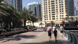 Dubai marina cayan tower HD