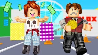 CRIS SPENT ALL MY MONEY (Roblox Escape the Mall Obby)