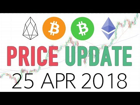 EOS, BCH, BTC, ETH Technical analysis - 25 Apr 2018 (Trading positions)