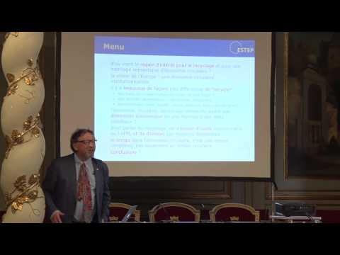 Prospective industrielle et économie circulaire