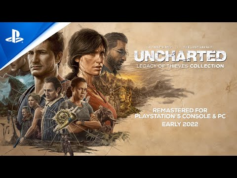 Uncharted: Legacy of Thieves Collection - PlayStation Showcase 2021 Trailer   PS5