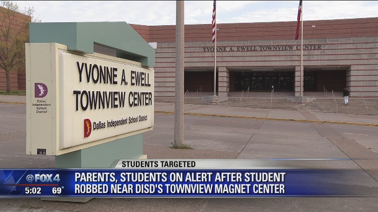 Another student robbed near Dallas high school