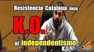 Resistència Catalana deja K.O al independentismo