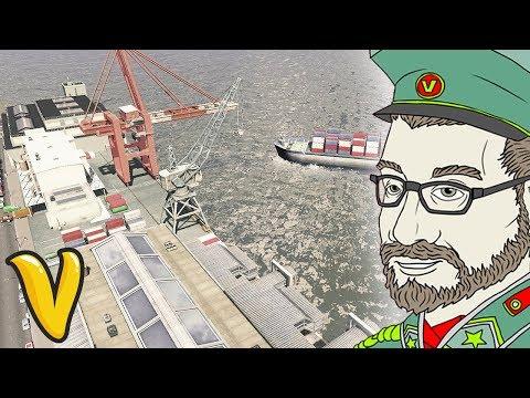 GREAT PORT DISTRICT OF VLADISTAN!! Cities Skylines Building Vladistan #10
